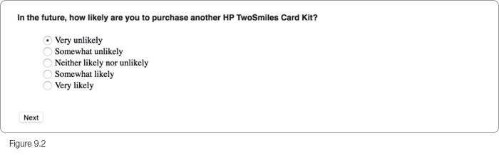 HP Survey Step 3