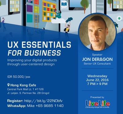 UX Essentials for Business at LiveLife