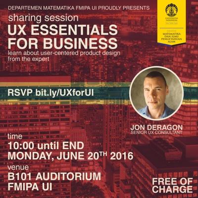 UX Essentials for Business at Universitas Indonesia