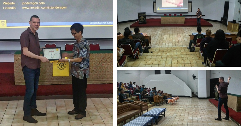 UX Essentials for Business Universitas Indonesia Presenting