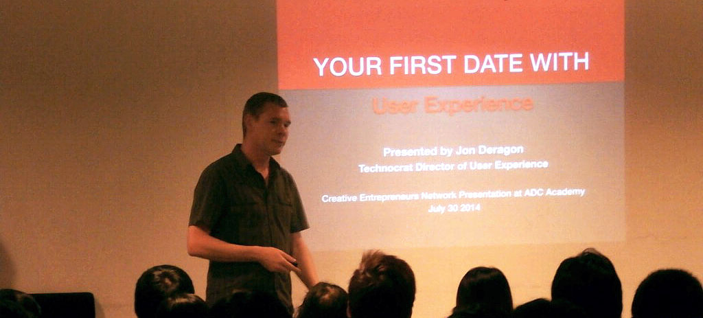 Your First Date with UX Presenting